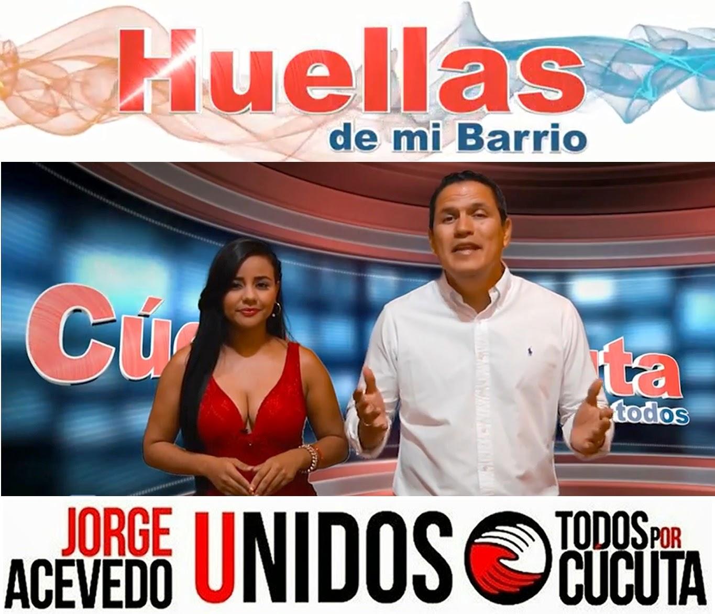 Video | Huellas de mi Barrio Guaimaral un excelente aval para Jorge Acevedo candidato a la Alcaldía de Cúcuta