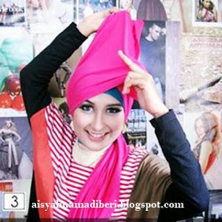 Cara Memakai Jilbab Kreasi Jilbab Pashmina Casual Dan Modis #2