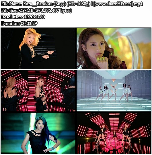 Download MV Kara () - Pandora () (Bugs Full HD 1080p)
