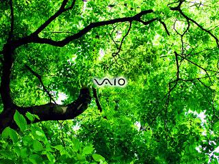 green tree Apple Mac logo