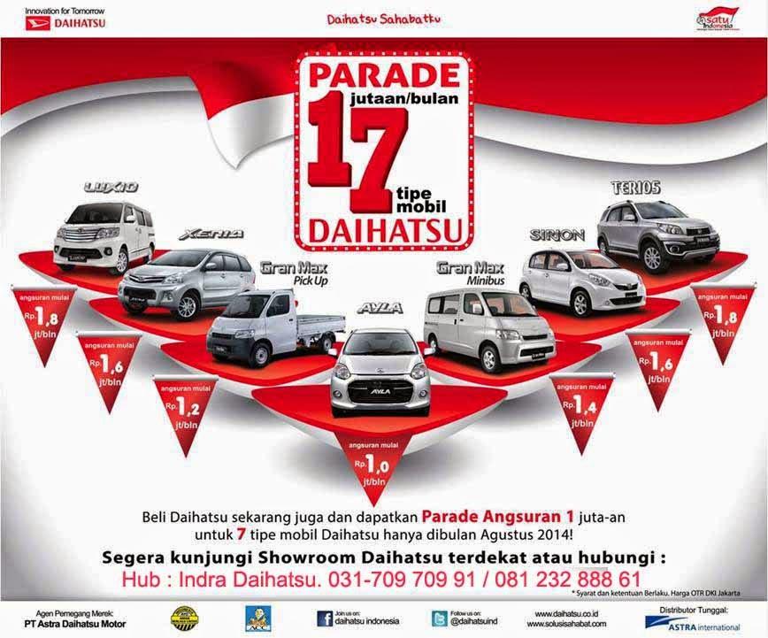 Promo Daihatsu Agustus
