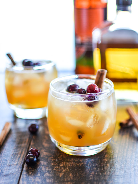 5 Thanksgiving Cocktails to help you survive the stress of the holidays! Apple sangria, pecan pie jello shots, and more!