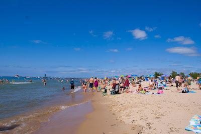 Grand Haven State Beach, Michigan