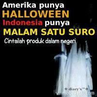 DP BBM Halloween Versi Indonesia Lucu Gokil Ngakak