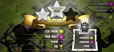 Farming Bonus Liga Clash of Clans Terbaru