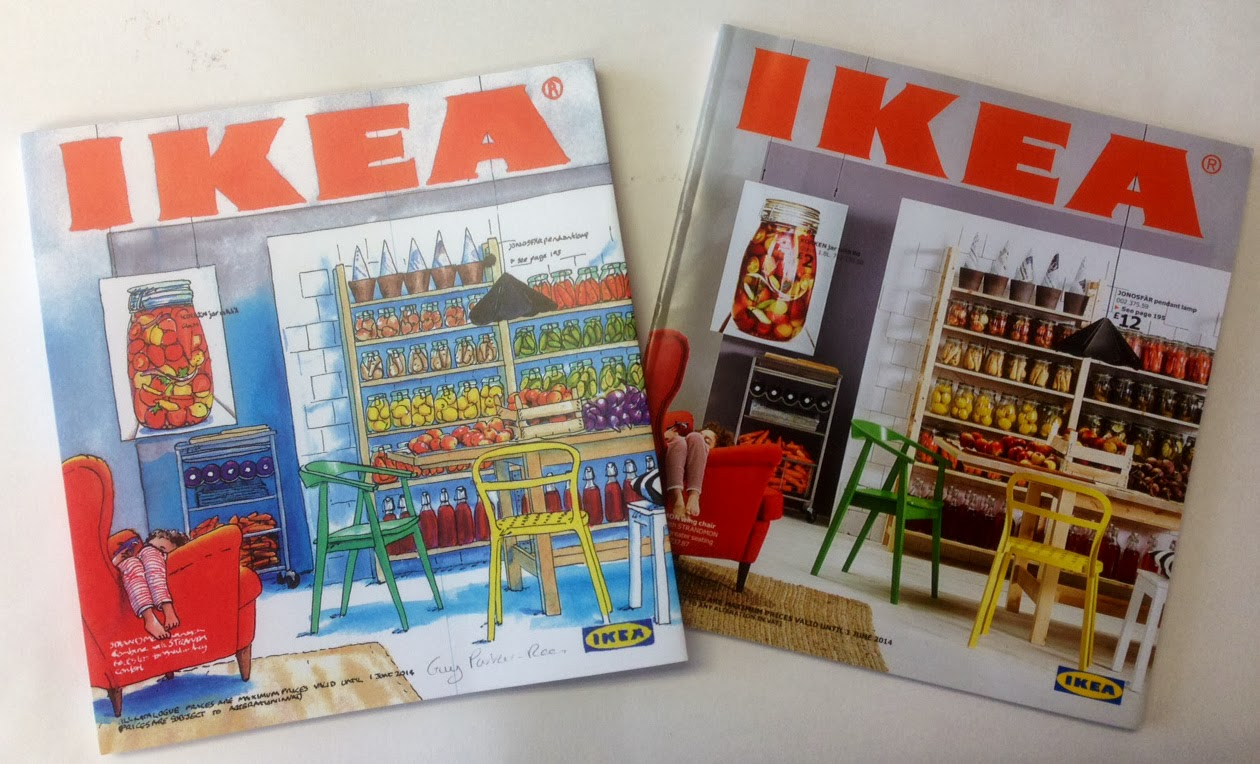 Guy Parker Rees 39 S Blog Painting The Ikea Catalogue Cover