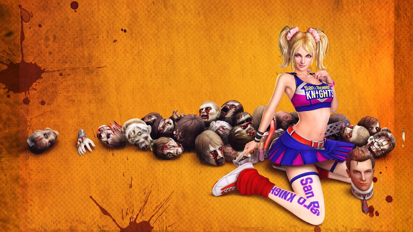 Lollipop Chainsaw Zombie Game Wallpapers Collection - lollipop chainsaw zombie game wallpapers