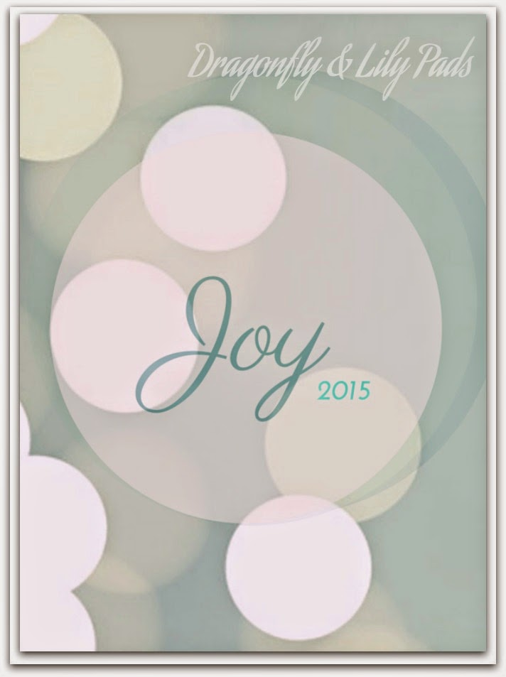 Word of the year, Joy, 2015, Lights, Sparkling Joy, Teal, White, Circles