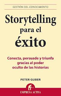 Estamos Sorteando 5 libros Storytelling para el éxito