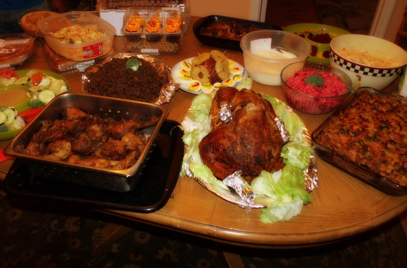 & Thanksgiving Haitian style ~ alha itienne