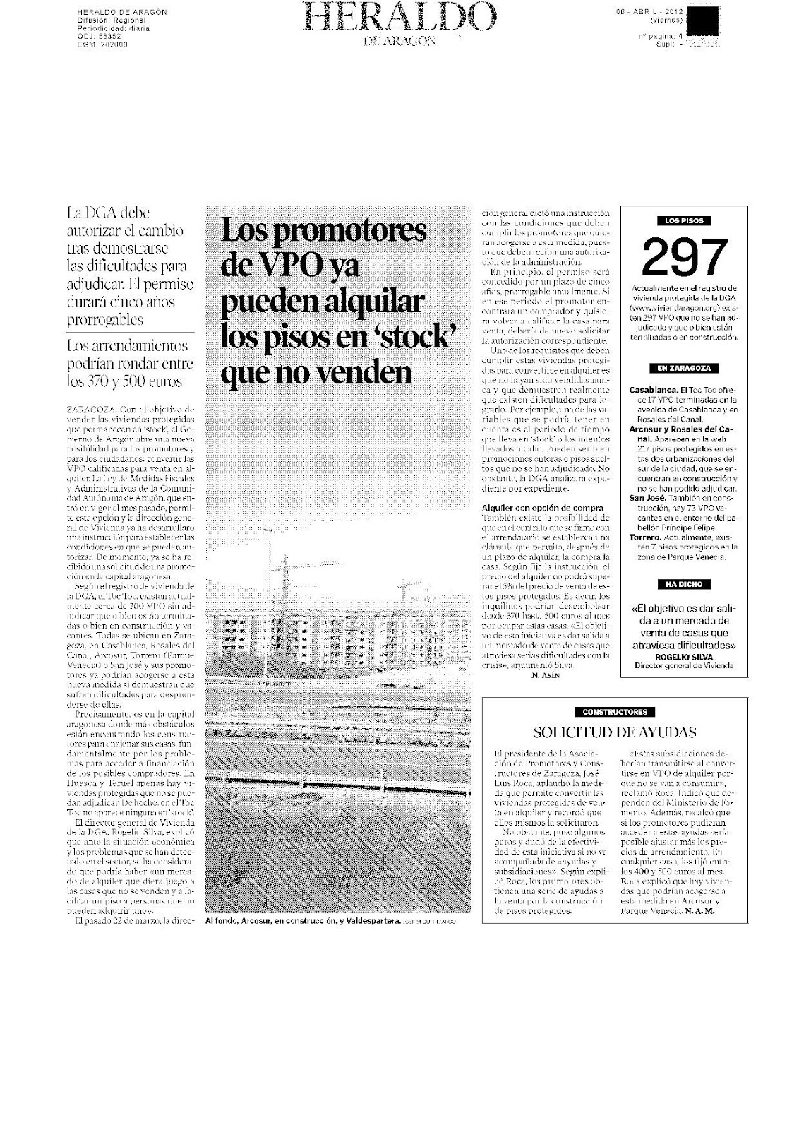 Vivienda joven zaragoza los promotores de vpo ya pueden for Clausula suelo en pisos de vpo