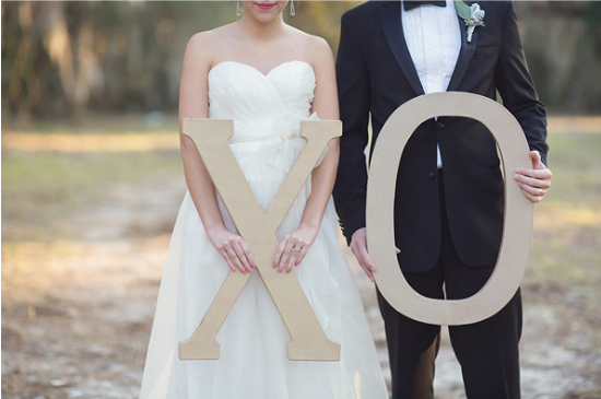 Lettere giganti di cartone per matrimoni, oversized wedding letters