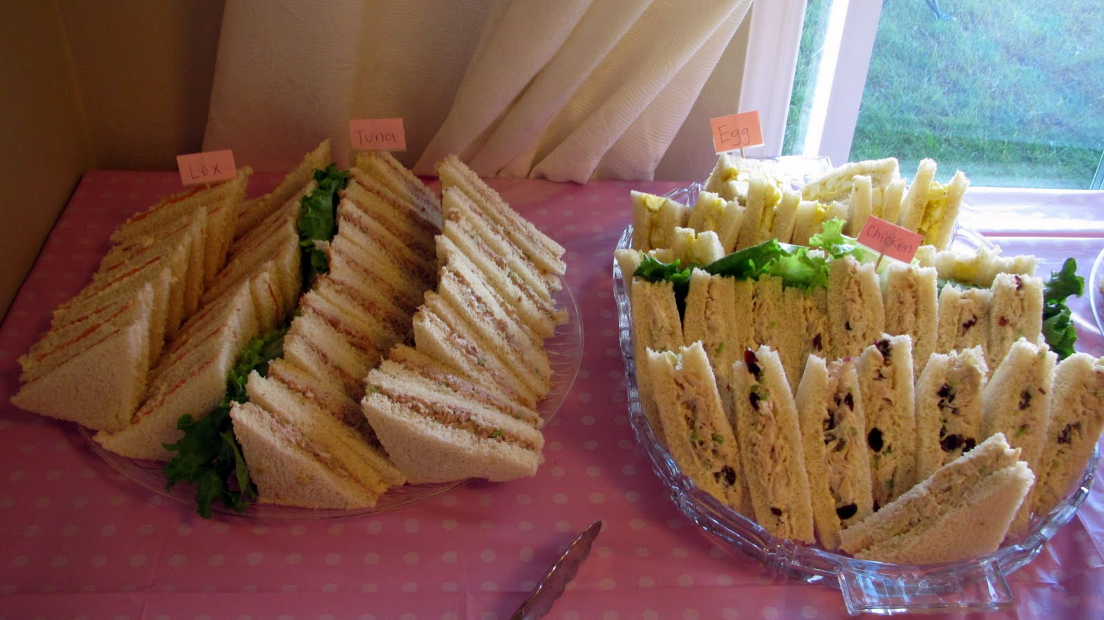 finger sandwiches for baby shower culinary experiments tea