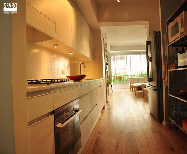 Toàn bộ không gian khu bếp