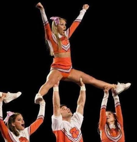 10 Most Embarrassing Moments in Cheerleading