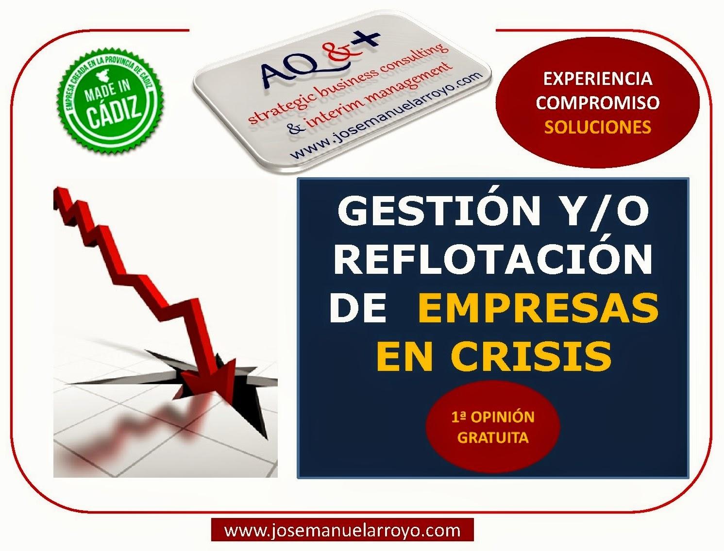 Gestionar en entornos de Crisis. Reflotación y Reestructuración