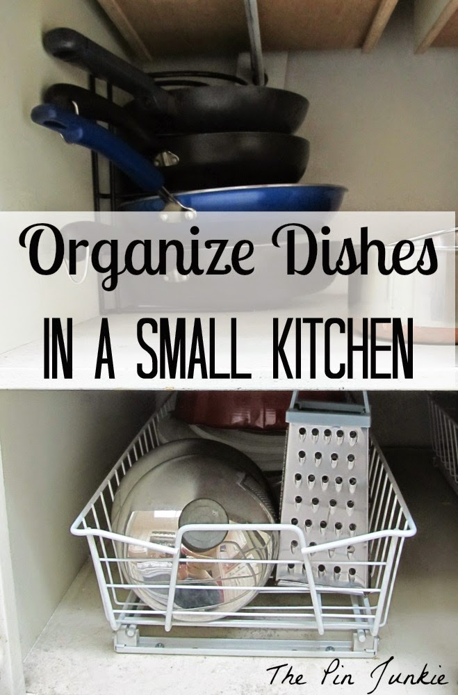 How to organize-dishes-in-small-kitchen