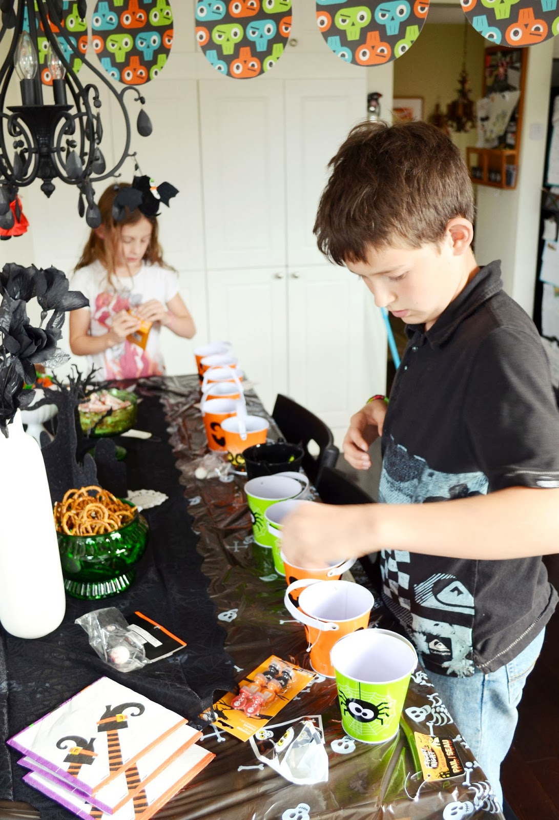 Woman in Real Life:The Art of the Everyday: A Halloween Birthday Party