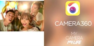 Aplikasi kamera selfie Android - Camera 360