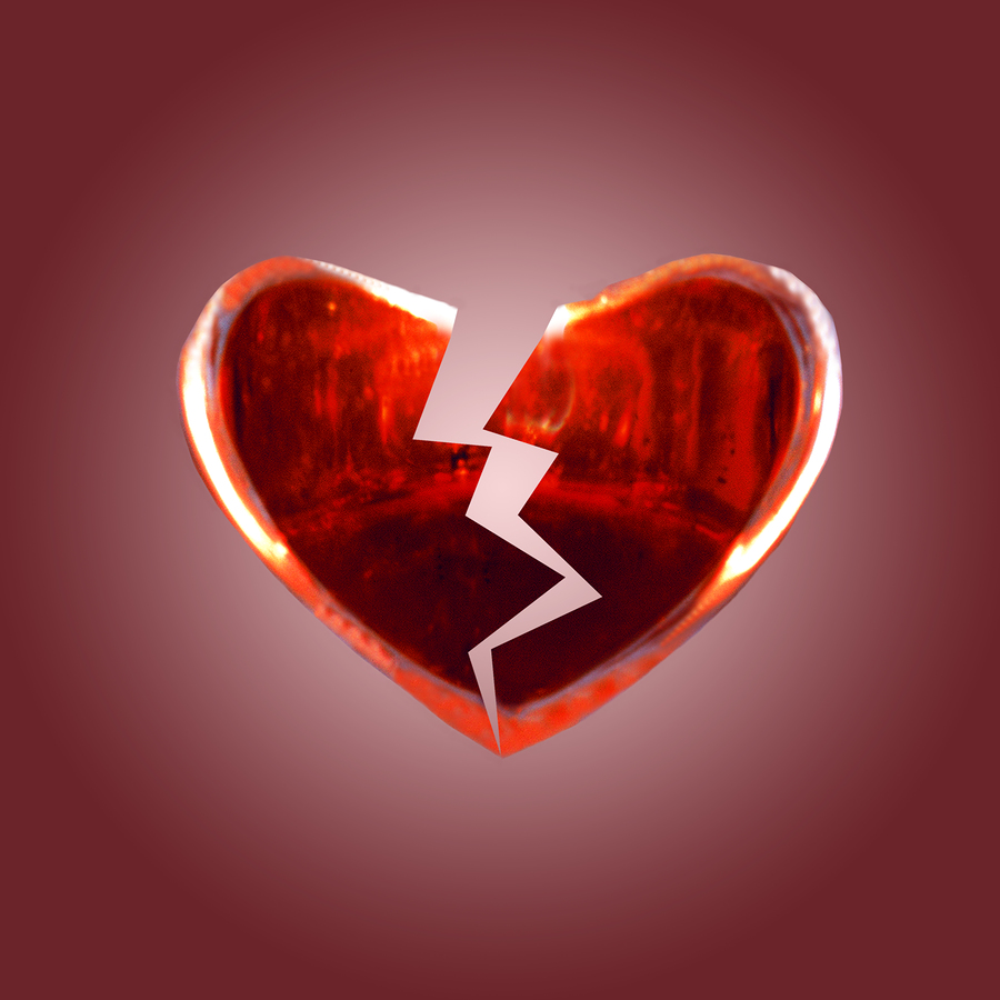25 affecting pictures of broken hearts creativefan