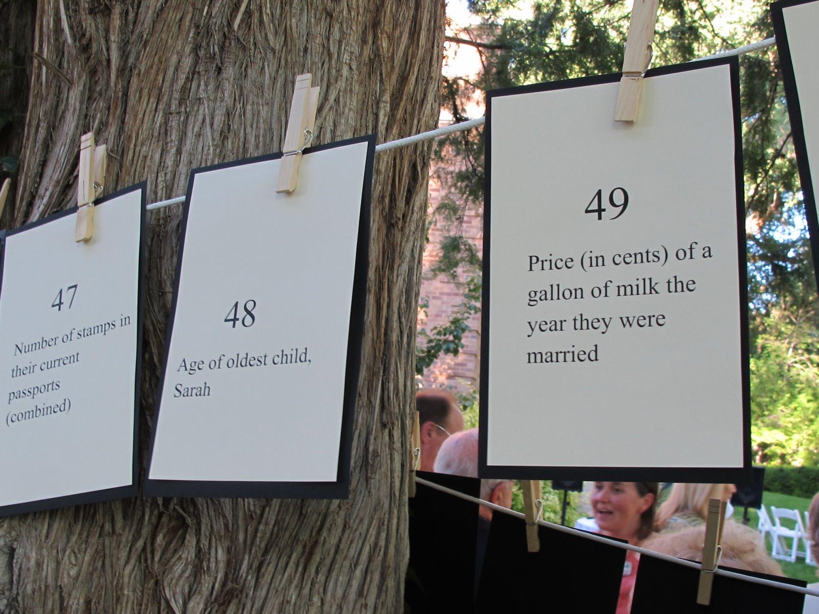 marta writes: anniversary garden party / celebrating 50 years