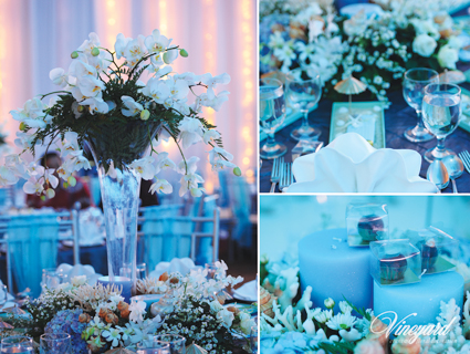 Vineyard event floral decoration surabaya under the sea themed one of the popular wedding decoration ideas is to have innovative lighting some of the wedding venue is decorated with beautiful lights that reflects the junglespirit Images