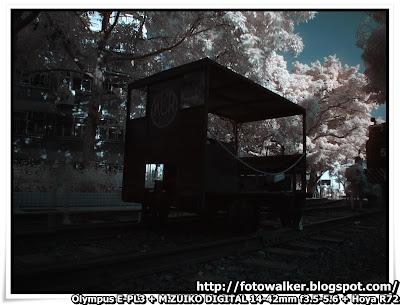 紅外線@鐵路博物館
