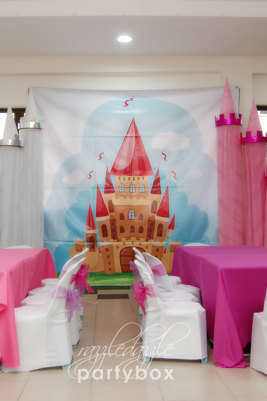 Theme Birthday Party Enchanting Princess