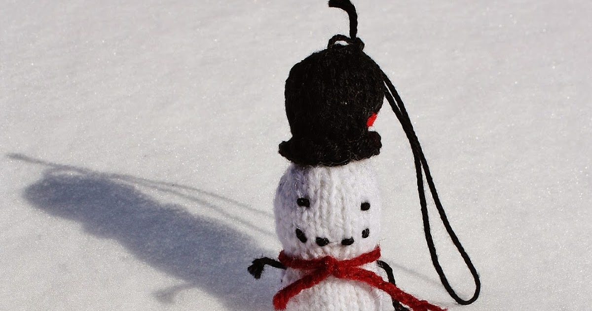 Knitting Terms Kfb : September violets knitted snowman free pattern