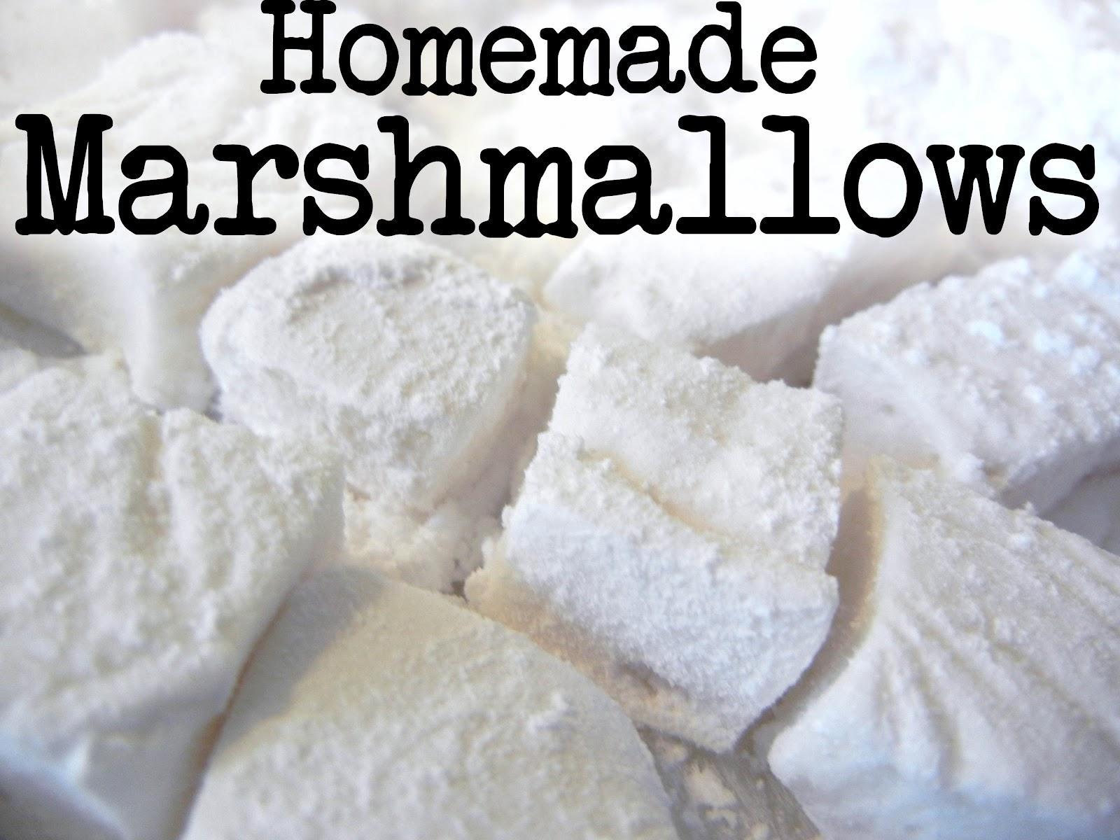 Homemade Vanilla Marshmallows Recipe — Dishmaps