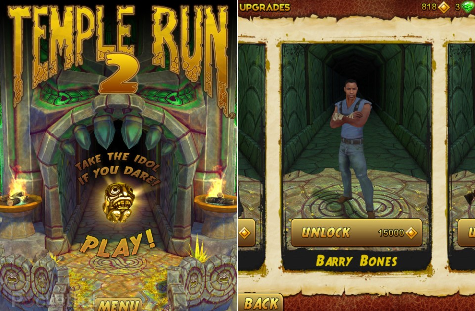 i want to play temple run 2 game free online