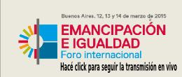 MANIFIESTO POR LA EMANCIPACIÓN Y LA IGUALDAD