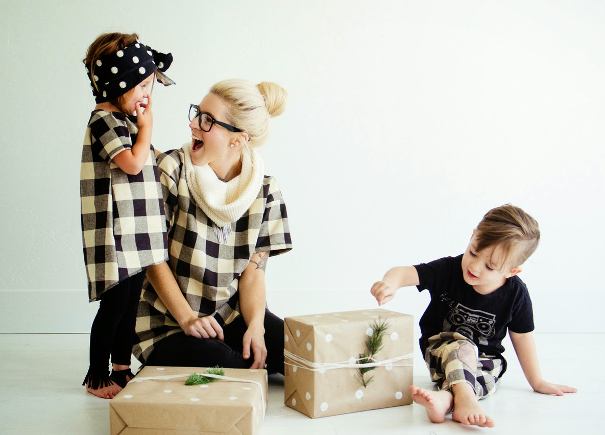 kids and mommy fashion by Kindred OAK for holiday collection 2014