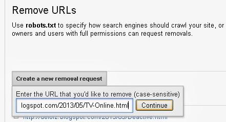 remove urls