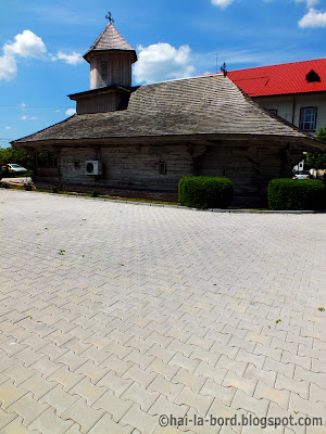 biserica lemn pitesti