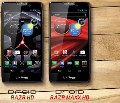 Long Life Smarthphone DROID RAZR HD and MAXX HD From Motorola