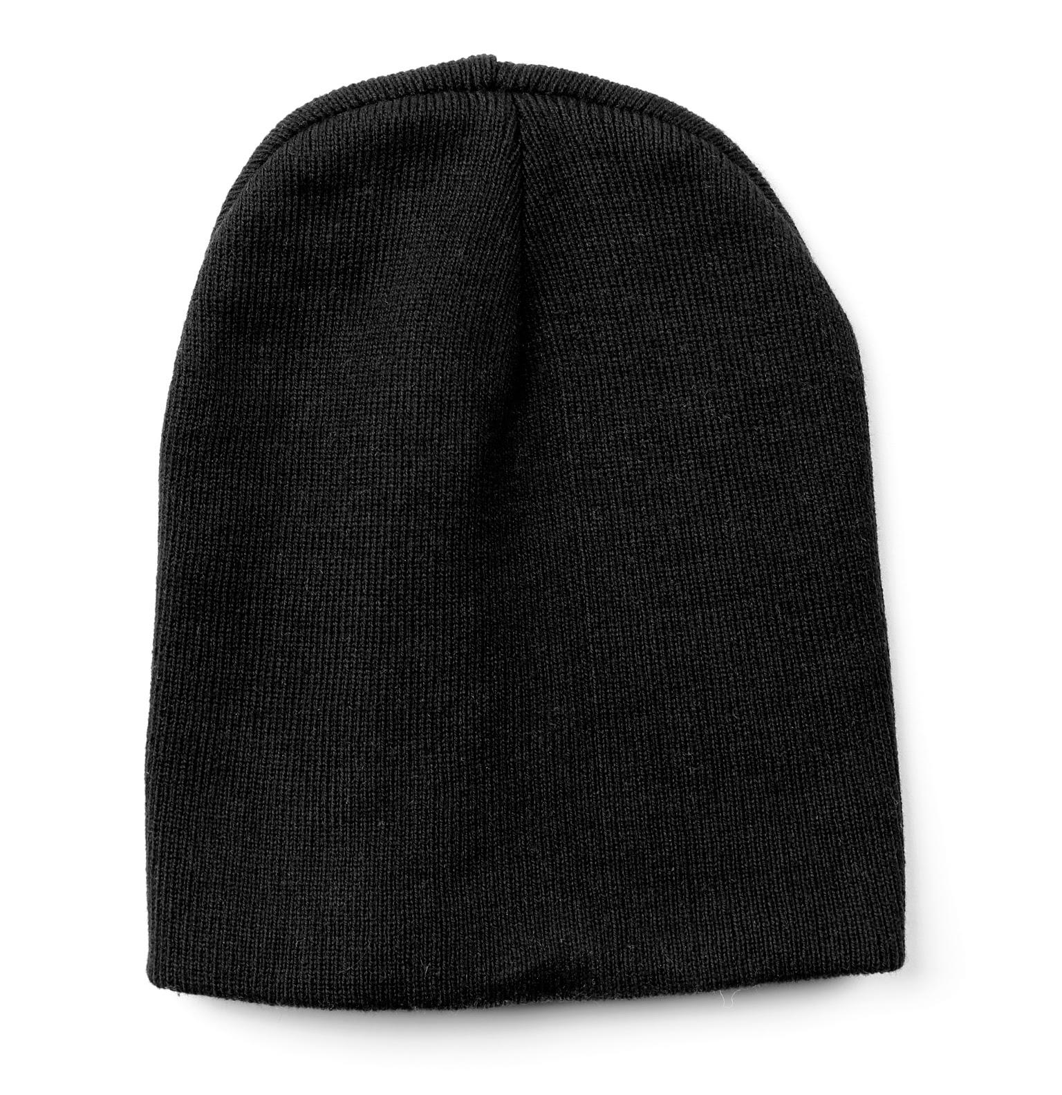 Black Skull Cap Beanie