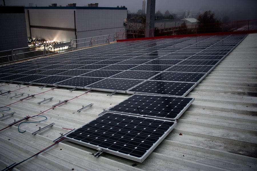 Solar Mounting System - MontaVent