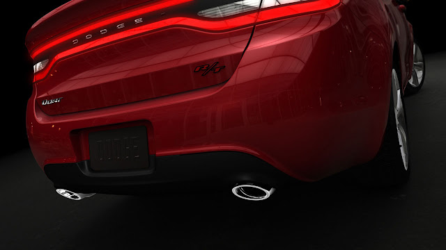Dodge Dart 2013 back