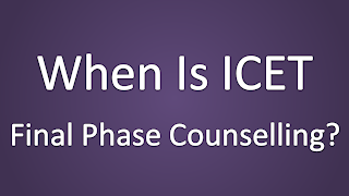 When is ICET 2014 Second Counselling