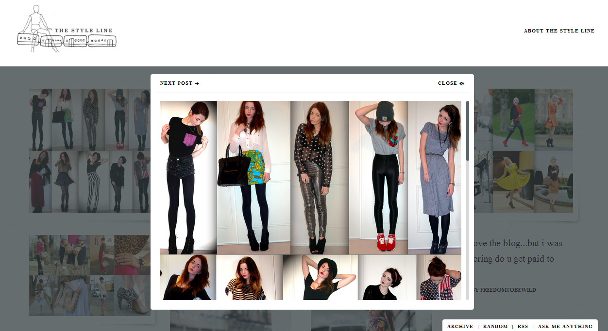 Hannah Louise Fashion A Fashion Style And Beauty Blog Feature On The Style Line