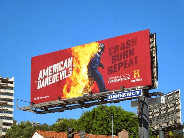 American Daredevils billboard