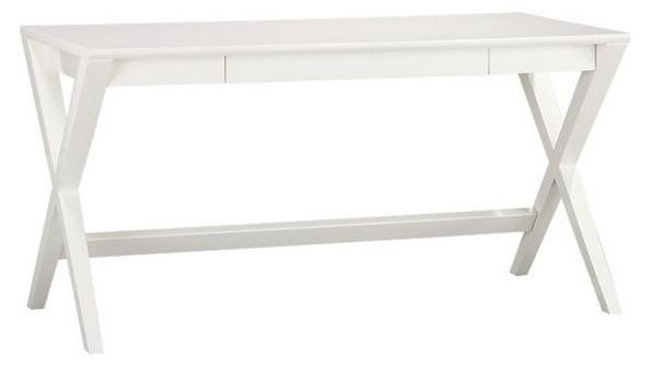 jett desk white lacquer 499
