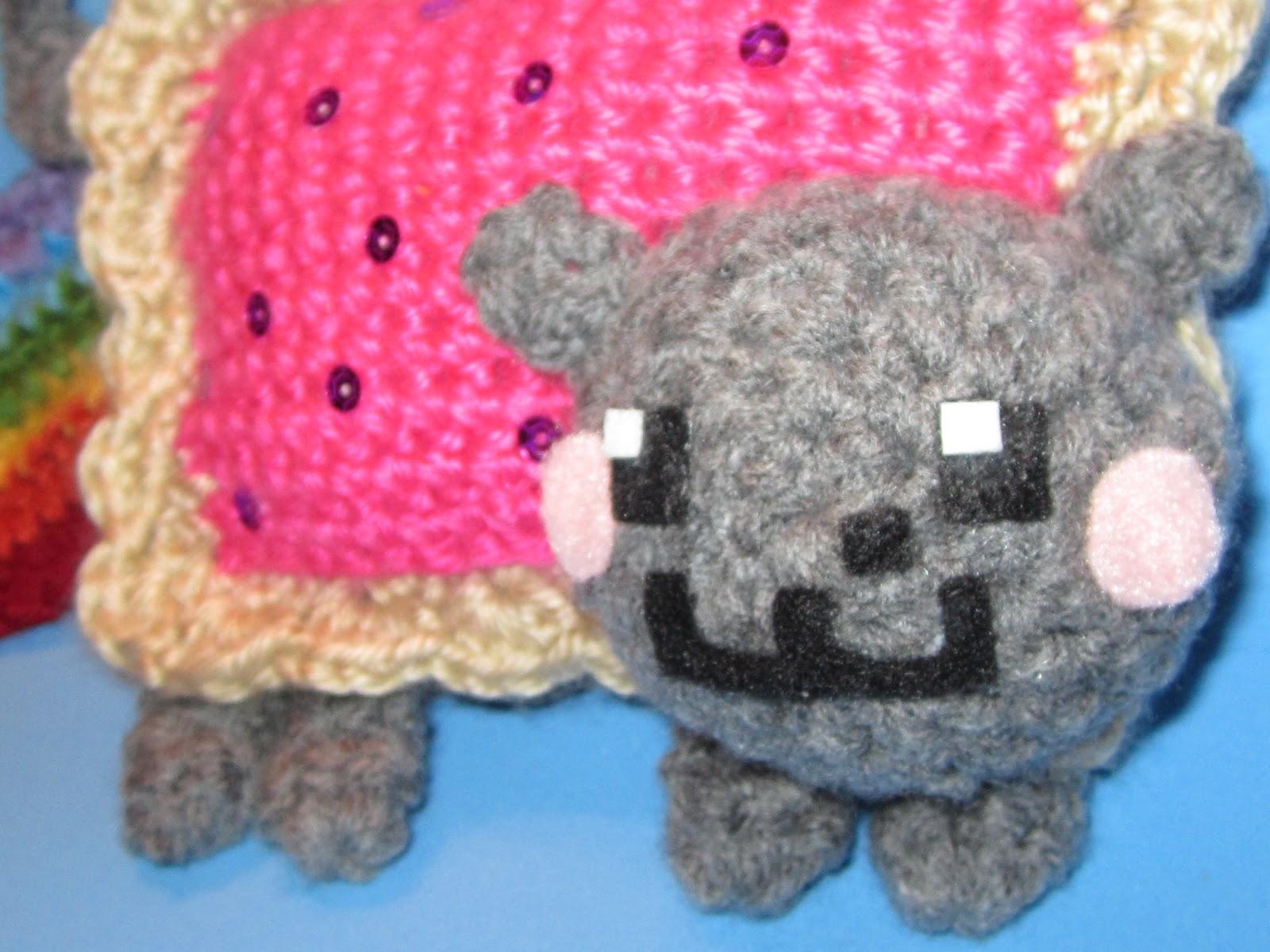 Nyan Cat Amigurumi Free Pattern : The Curious Pebble Project: Nyan Cat Amigurumi PATTERN!