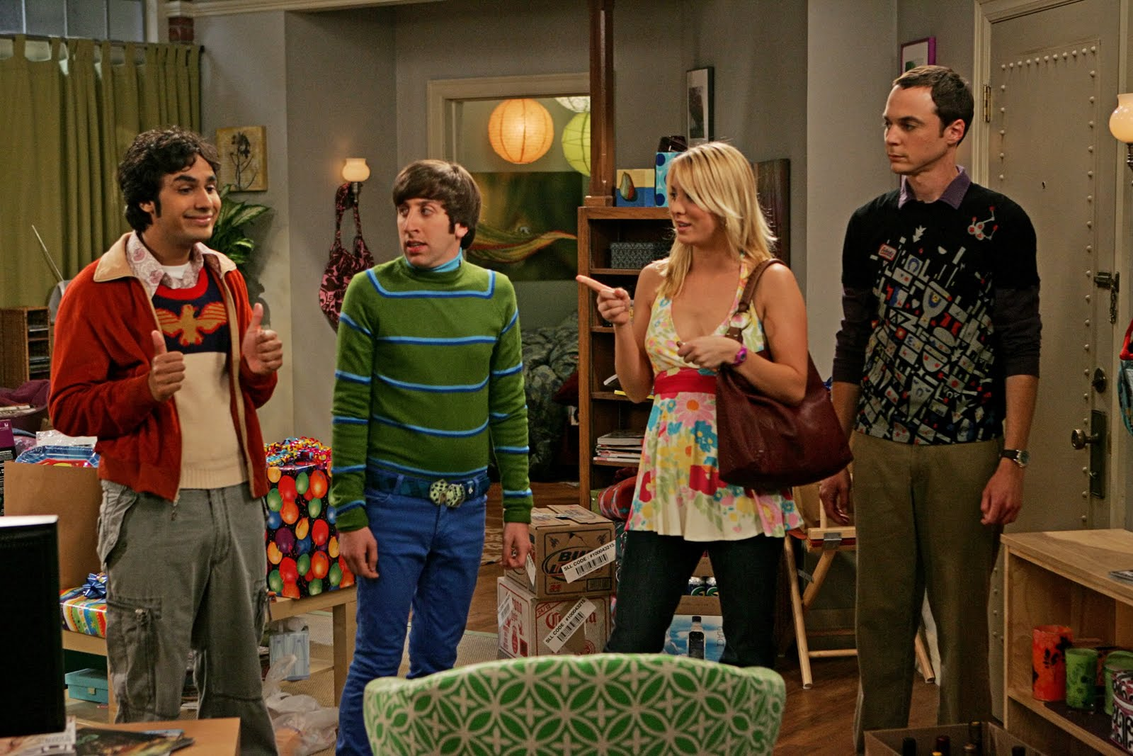 Big Bang Theory Emmy Awards Nominee HD Wallpapers  Desktop Wallpapers