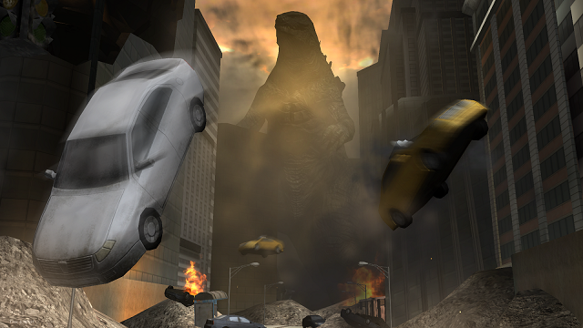 Godzilla Strike Zone game