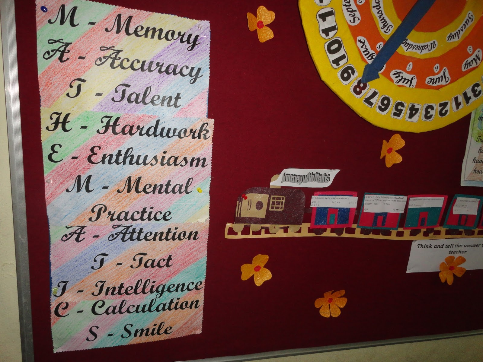 School Decoration Soft Boards. In Elementary Crayon We Decorated Our ...