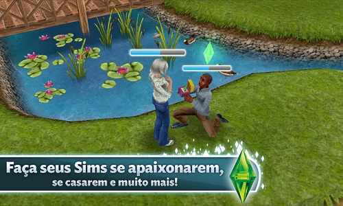 the sims freeplay como se casar