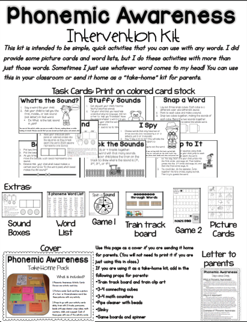 It's just a picture of Légend Phonemic Awareness Printable Games