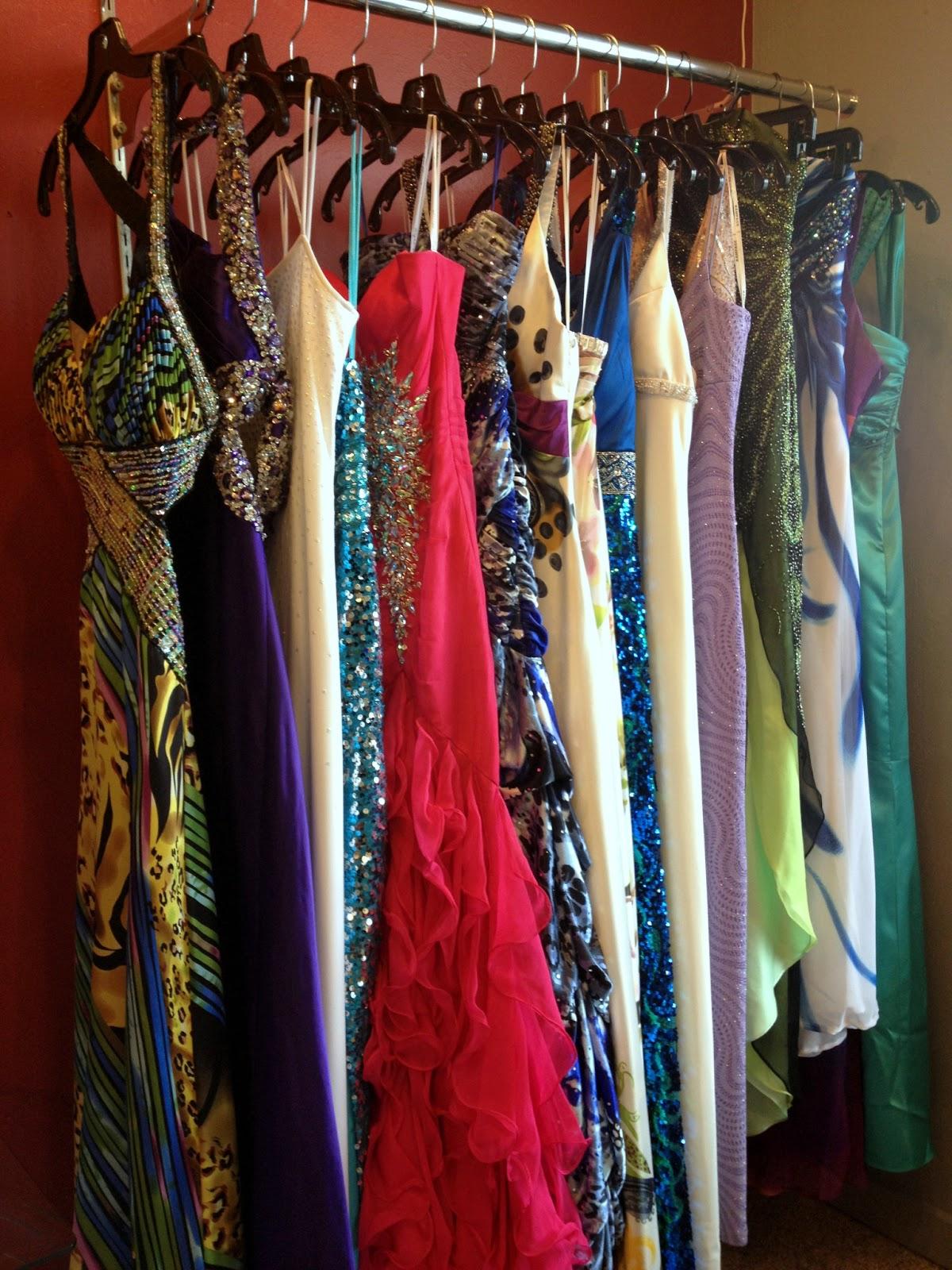 An evening dress resale